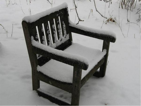 Winter-Snowy chair